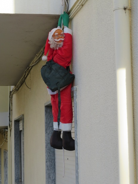 This particula Santa, with his spectacles made me laugh.
