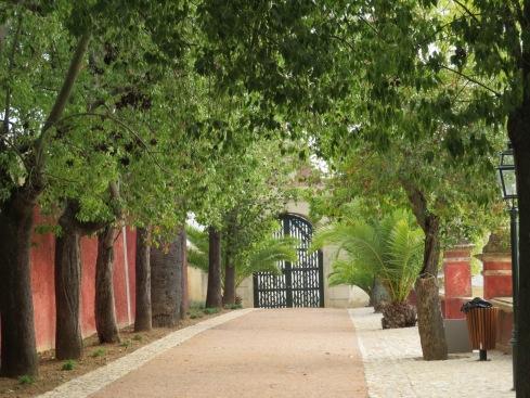 The Pousada walkway