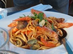 Harald's amazing seafood dish