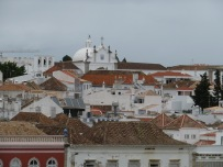 A view to the north of Tavira.