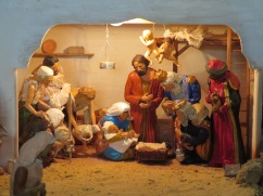 Detail of the creche.