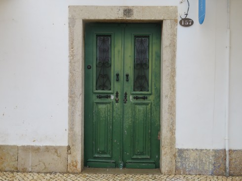 It's green AND it's a door. Has my name all over it.