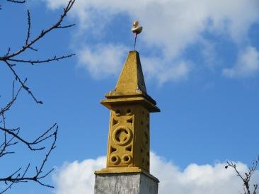 Creative chimney in Alvor