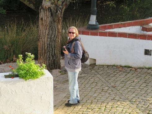 Walking near the river in Alte
