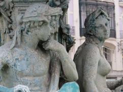 Fountain details.