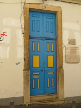 I want to meet the person who painted this wonderful door.