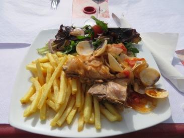 Frango a Olhanense....delicious.