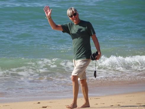 I too love the long walks on the beach.