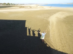 Marc took this of me taking our shadow photo.