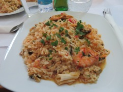 Arroz de Marisco........Seafood Rice.......so delicious and plentiful. Next time a half order only as it's intensely rich and filling.