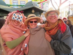 This Octopus woman was delightful and latched on to Patricia and Marc.