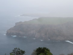 A misty day but you get to enjoy some of the scenery.