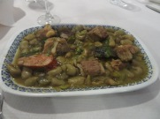Favas Guisadas com Entrecosto...Broad Beans with Pork ribs and chorizo.