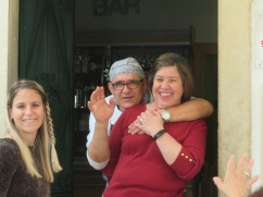 Johana, Simão and Ana........these people make our time here so very special.