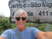 My selfie at the top of São Miguel.