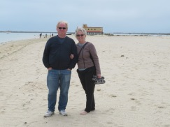 Gary and Pat,happy to see sunshine and sea again.
