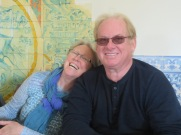 Patricia and Gary.......how grand are those smiles?