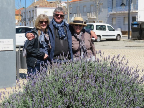 When we arrived it felt a little windy but let me tell you, those coats disappeared very quickly. Look at the lovely lavender.