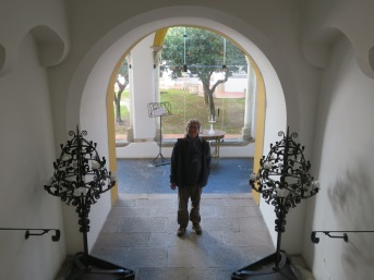 We went into the local Pousada for a bit of exploration. Sadly the dining room was closed.