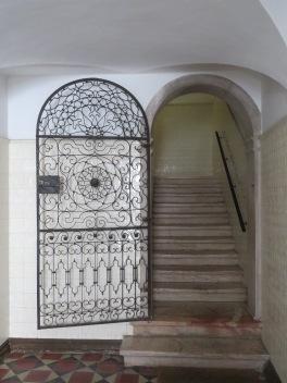 Gorgeous design in the door.