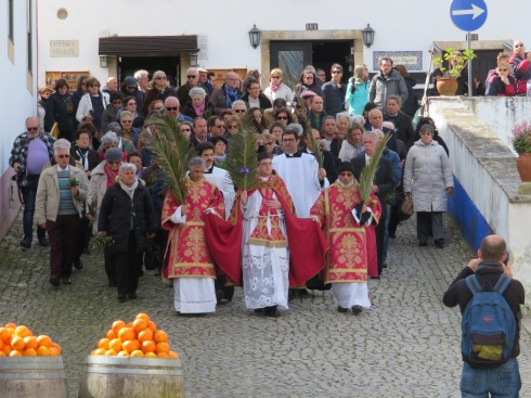 It was Palm Sunday and we lucked upon this lovely procession, filled with music and singing, it felt quite special.
