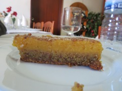 We thought this was a sweet potato dessert. It wasn't but it didn't stop the two of them!!!!