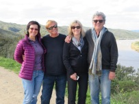 Bonnie, Ken, Laurie and Marc......Gwen was in the bushes having a pee!!!!!