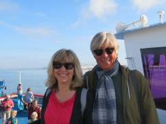 On the ferry to Spain.