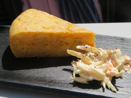 Spanish tortilla omlette