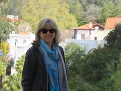 Laurie as we arrive at the Caldas de Monchique