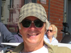I;m looking wilder and woollier every day!! I sat and relaxed on the patio while Laurie and Marc shopped.