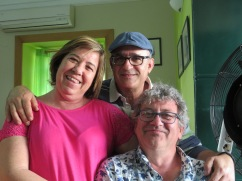 Ana, Simão and Marc......what marvelous memories we have of these two......and continue to make.