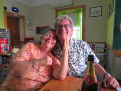 And of course, Gwen and Marc.......always belly laughter and fun when Gwen is near