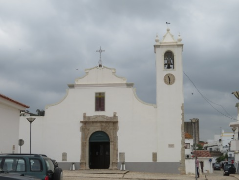 The local church. Mass was just starting so we didn't go inside. Afraid of lightning bolts!!!