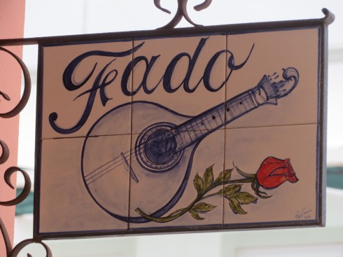 A lovely tiled sign that caught our eye.