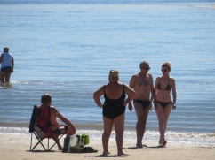 I love seeing the different activities that people enjoy while taking in the sun, sand and sea.