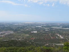 The views from the top were spectacular.....off in the distance here you can see the entire town of Faro