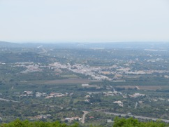 This is a great view of the entire village of Estoi.