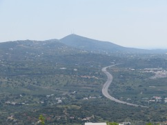A view of Sao Miquel, our usual hiking mountain.
