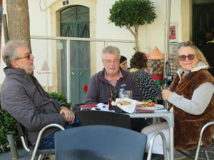 David, his brother Alan and Marion.l