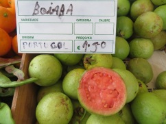Goiaba fruit.....Guava fruit......the scent was amazing....I was literally drooling.