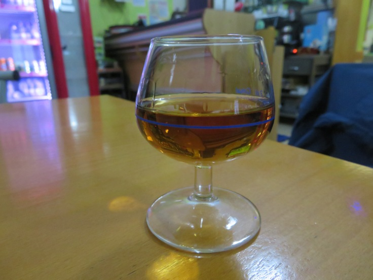 A glass of Macieira Macieira.jpeg Manufacturer Pernod Ricard Country of origin Bombarral, Portugal Introduced 1885 Macieira which is a Portuguese brandy. Warmed me up instantly!!