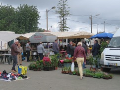 It always amazes me how many flowers and plants they sell at these markets. Mind you, if I had a house here I would be coming each week to add something new to my garden.