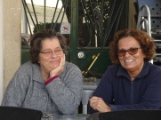 These two women are here each day and always have a ready smile and something silly to say to us.....in Portuguese.