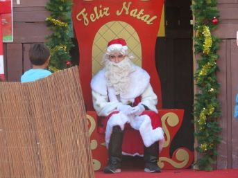 I think Santa looks about 18 years old!!!