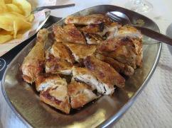 Piri piri chicken with a lovely kick.