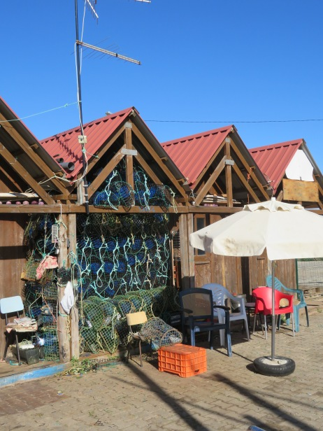 We wandered around the fisherman's huts to have a look.