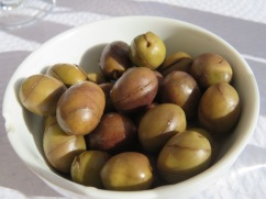 Flavourful olives......lemony and a tiny bit bitter.