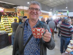 Diane and Gwen, we think we found the perfect sized mug for your tea. Maybe next year you can come with us and purchase one each????