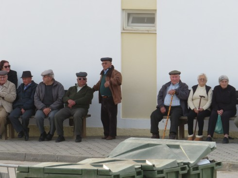 I love how the older people gather and watch the world go by. Imagine the changes they have seen in their tiny village over the years.